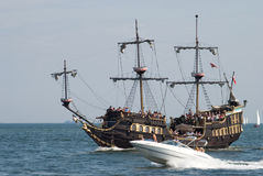 Tall Ship Races - Gdynia - Poland 04.07.2009 Stock Image