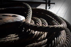 Tall Ship Rigging Royalty Free Stock Photos