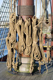 Tall Ship Rigging Royalty Free Stock Images
