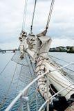 Tall ship rigging Royalty Free Stock Photo