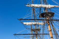 Tall Ship Rigging Royalty Free Stock Image