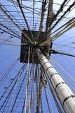Tall ship rigging Stock Photos