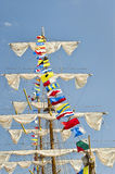 Tall Ship's Mast Royalty Free Stock Image