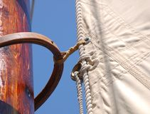 Tall ship sail stock photography