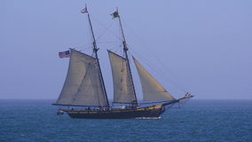 Tall ship stock footage