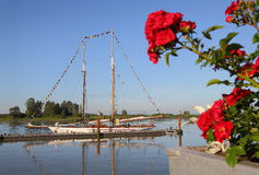 Tall Ship, Schooner, Steveston Stock Photo