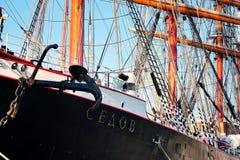 Tall ship Sedov Stock Images