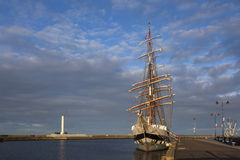 Tall Ship. Stavros-S-Niarchus. Royalty Free Stock Images