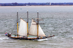 Tall Ship the `Swaensborgh` Royalty Free Stock Photography
