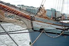 Tall ship takelage Stock Photos