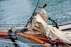 Tall ship takelage Royalty Free Stock Image