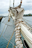 Tall ship takelage Stock Photography