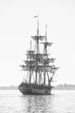 Tall Ship under Sail stock photography