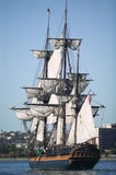Tall Ship under Sail royalty free stock images
