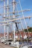 Tall Ship at Whitby Regatta, August 2015. Royalty Free Stock Images