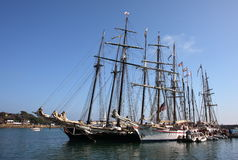 Tall Ships Royalty Free Stock Photography