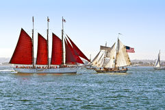 Tall Ships Stock Photography