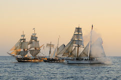 Tall ships Stock Photos