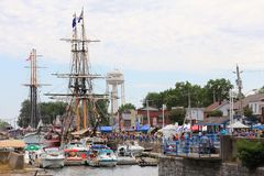 Tall Ships Canal Days Festival Stock Photography