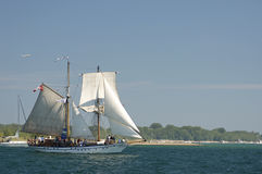 Tall Ships Challenge 2010 - Pathfinder Royalty Free Stock Image