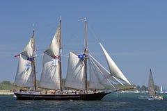 Free Tall Ships Challenge 2010 - S/V Denis Sullivan Stock Photo - 15033960