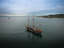 Tall ships. Dublin Riverfest 2017. Ireland stock photos