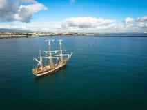 Tall ships. Dublin Riverfest 2017. Ireland Stock Image