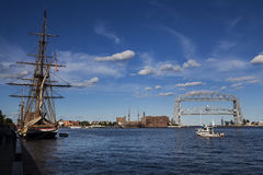 Tall Ships Duluth Stock Photo