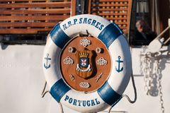 Tall Ships event. SINES, PORTUGAL: 29th april, 2017 - Tall Ships event is a big nautical event where big majestic ships with sails are presented to the public Stock Photography