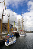 Tall ships in Liverpool 20th July 2008 Royalty Free Stock Photo