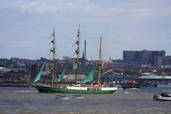 At the tall ships parade of sail Royalty Free Stock Photography