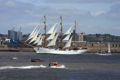 At the tall ships parade of sail Royalty Free Stock Images