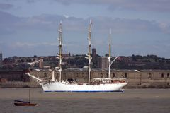 At the tall ships parade of sail Royalty Free Stock Image