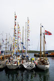 Tall Ships Race 2011 Lerwick Stock Image