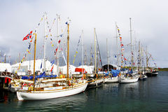 Tall Ships Race 2011 Lerwick Royalty Free Stock Photo