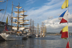 Tall Ships race 2012 Royalty Free Stock Image
