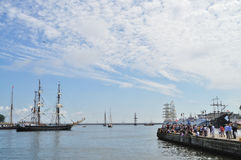Tall Ships Races Royalty Free Stock Photography