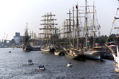 The Tall Ships Races 2013 in Riga Stock Photography