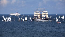 The Tall Ships Races. Royalty Free Stock Photography