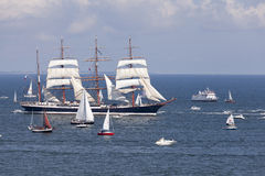 The Tall Ships Races. Royalty Free Stock Images