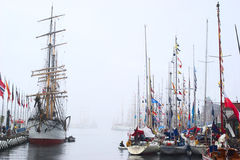 The Tall Ships' Races 2008 in Bergen, Norway Royalty Free Stock Photo