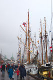 The Tall Ships' Races 2008 in Bergen, Norway Royalty Free Stock Photos