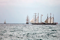 Tall Ships Regatta 2010 - The race Stock Photo