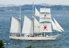 Tall Ships Regatta 2010 - Shabab Oman Stock Photo