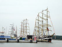 Tall Ships Regatta, Lithuania Royalty Free Stock Photography