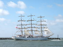 Tall Ships Regatta, Lithuania Stock Images