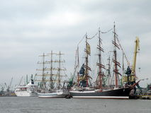 Tall Ships Regatta, Lithuania Stock Photo