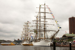Tall Ships at Sailabration Royalty Free Stock Images