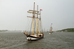 Tall Ships Stock Image