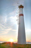 Tall skinny lighthouse Stock Photography